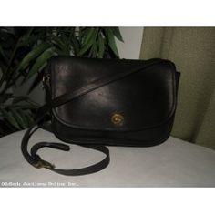 COACH Shoulder Bag Flap Style #4731 Thick Leather NICE Purse Vintage!
