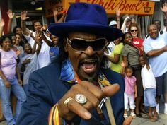 The Godfather of Go-Go, Chuck Brown. DC won't be the same without him.
