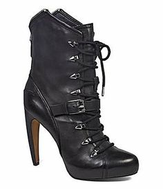 Sam Edelman Knox Platform Booties #Dillards These are calling me.