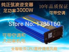 302.68$  Watch now - http://ali1xc.worldwells.pw/go.php?t=32732097128 - 3KW 3000W high frequency inverter 3000W pure sine wave inverter 3000W Off Grid Tie inverter converter single phase peak 6000W 302.68$