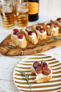 roasted grape honey goat cheese crostini more grape honey rosemary ...