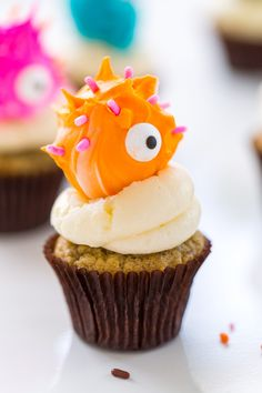 truffle monster cupcakes