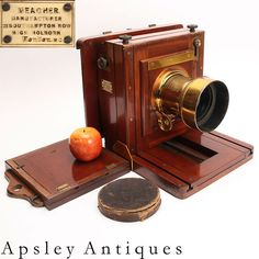 a good Meagher Wetplate Studio Camera With Meagher Repeating Back & Ross 2a Lens. For sale at www.fgphotographica.com