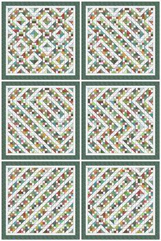 HST Ideas - makes a 72 x 72 size quilt