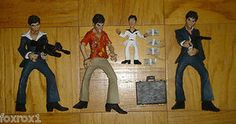 Scarface Tony Montana 4 Rare Dolls Al Pacino Action Figure 1983 With Accessories - Foxy Roxy Collectables If your looking for something special this holiday season for the person who has everything or is impossible to shop for, one of my 250 plus items might make the perfect gift! If you don't see what you are looking for, please do hesitate to ask!
