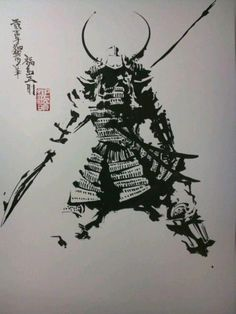 I sincerely am into the hues, outlines, and detail. This is a terrific choice if you want a Samurai Girl, Oni Samurai, Samurai Warrior, Samurai Drawing, Samurai Artwork, Samurai Tattoo, Japanese Illustration, Illustration Art, Illustrations