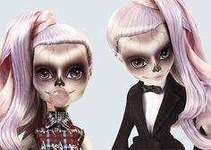 """Lady Gaga e Mattel se juntam em Zomby Gaga, nova boneca da linha """"Monster High"""" - Que Delícia, Né Gente?!"""