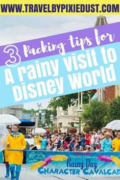 If you're visiting Disney World during the rainy season and want Disney Tips to make your Disney Vacation run smooth, look no further! #waltdisneyworld #disneyworld #disneytips #rainydisney #disneyworldrain #disneyworldraintips
