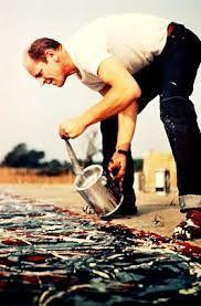 Resultado de imagen para jackson pollock obras de arte EXPOSICION NIÑOS