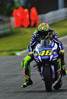 Valentino Rossi (Photo l Michelin) Practice GP Germany Sachsenring