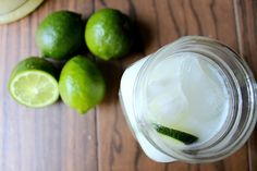 Brazilian Lemonade. Ingredients: 6 cups cold water 1 cup sugar 4 limes 6 tablespoons sweetened condensed milk