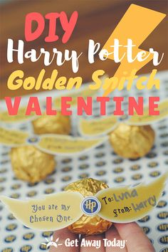 DIY Harry Potter Valentine with Free Printables