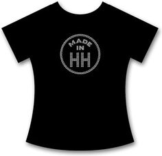SEXY + INDIVIDUELLES STRASS MADE IN HAMBURG PREMIUM T-SHIRT, COOLES OUTFIT!
