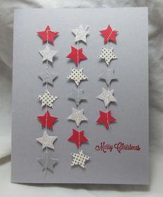 (Paper Pumpkin ones) - Mmmmm… leftovers! (Paper Pumpkin ones) - Homemade Christmas Cards, Christmas Cards To Make, Handmade Christmas, Homemade Cards, Holiday Cards, Christmas Diy, Christmas Stars, Paper Cards, Diy Cards
