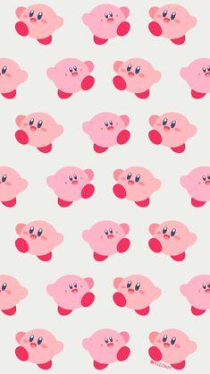 """リズ on Twitter: """"… """" Kawaii Wallpaper, Cool Wallpaper, Pattern Wallpaper, Kirby Character, Iphone Background Wallpaper, Kawaii Art, Cute Cartoon Wallpapers, Cute Art, Geek Stuff"""