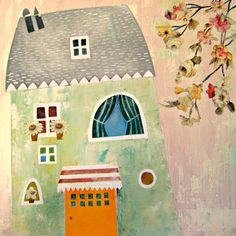 Tiziana Rinaldi -Illustrazioni per bambini su IL VELO DIPINTO