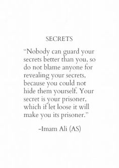 Secret prison ... Freeing up your mind gives you better odds at freeing up your soul. I AM FREE♡