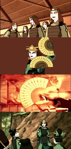 Bring Balance to The WORLD Kyoshi Warrior, Warrior Costume, Avatar World, Air Bender, Fire Nation, Legend Of Korra, Aang, The Last Airbender, Pose Reference