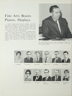 Northeast Missouri State College | The 1970 Echo | The Fine Arts Department