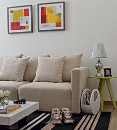 Sala decorada para quem tem 20, 30, 40 ou 50 anos - Casa