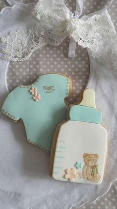Ideas de galletas para baby shower-
