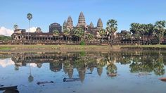 Amazing Place - A Small Temple at Angkor Wat in Siem Reap City