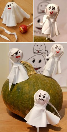 fantomes sucette enfant