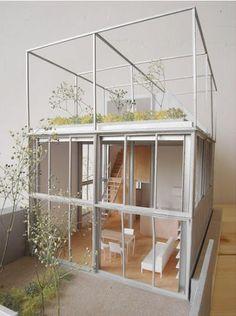 Fuminori Nousaku Architects steel house . kunitachi