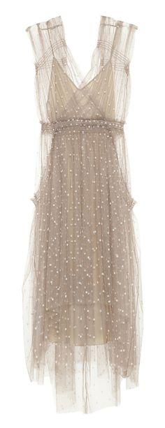 Lela Rose tulle dress. Great, flattering silhouette! Pretty:)