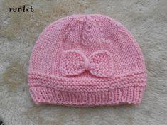 3567877a6ce4 bonnet naissance rose bébé laine noeud bonnet bebe fille bonnet nouveau né, bonnet