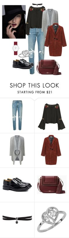 Mi look de hoy by sonetosada on Polyvore featuring moda, Bohème, Levi's, Tricker's, Kate Spade and Fallon