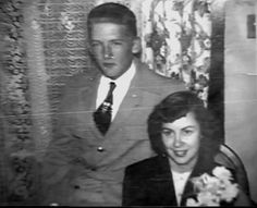 Jerry Lee Lewis with his first wife Dorothy Barton. They were married 20 months; from February 1952 to October 1953.