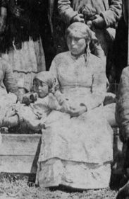 Anastasia Chapman- 1850-1930. a noted maker of baskets, from Spuzzum on the Fraser River.