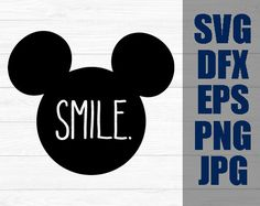 Disney SVG Decal Cutting File / Clipart iron on Eps by DuckySVG