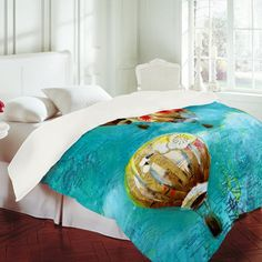 Love this bedding. Hot air balloon #balloon #adventure #bedding