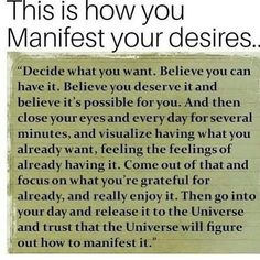 Manifestation / Manifesting / Law of Attraction / Abraham Hicks / Affirmations / Daily Affirmations / Women in Business / Fempreneurs / Mom / Stepmom / Moms in Business / Mindset Reiki, Positive Thoughts, Positive Quotes, Positive Vibes, Quotes To Live By, Life Quotes, Success Quotes, Qoutes, Ask Believe Receive