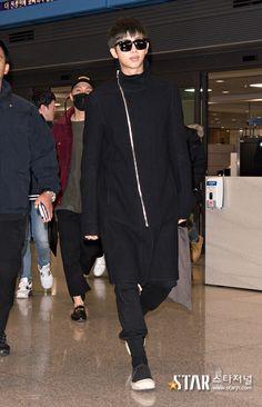 [AIRPORT] 161110: BTS Rap Monster (Kim Namjoon) #bangtan #bangtanboys #bts #fashion #kfashion #kstyle #korean #kpop