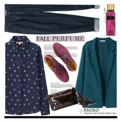 """""""Fall Fragrance and PaoloShoes"""" by spenderellastyle ❤ liked on Polyvore featuring beauty, H&M, Uniqlo, Toast and Soma"""