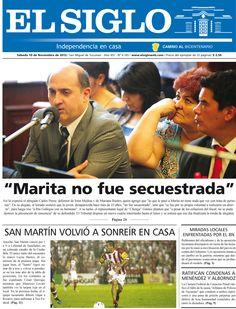 Diario El Siglo - Sábado 10 de Noviembre de 20 12