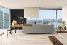 Shape your kitchen island and innovative storage units using 36e8