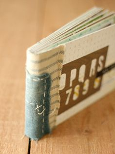 Crate Paper Book Binding Tutorial