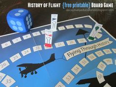 Relentlessly Fun, Deceptively Educational: History of Flight FREE Printable Game