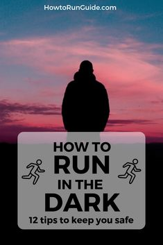 Running in the dark is different than daytime running, but do you know ALL of these 12 important tips? Find out how to run in the dark safely!