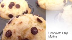 Homemade Chocolate Chip Muffins - YouTube