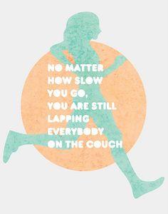 running inspiration.   My birthday marathon will be here before I know it