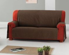 Aprende como confeccionar en tu maquina de coser una funda para sofá - CURSO DE COSTURA Sofa, Furniture, Home Decor, Couch Slip Covers, Cover, Sew, Table Toppers, Cases, Settee
