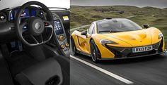 9. McLaren P1 = Velocidade Máxima: 349 km/h