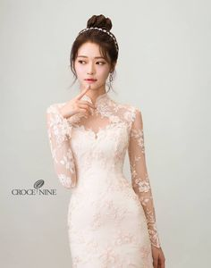 Find out about bridal hairstyles diy Modest Wedding Dresses, Wedding Dress Styles, Wedding Suits, Bridal Dresses, Wedding Gowns, Japanese Wedding Dresses, Wedding Couples, Vietnamese Wedding Dress, Ao Dai Wedding
