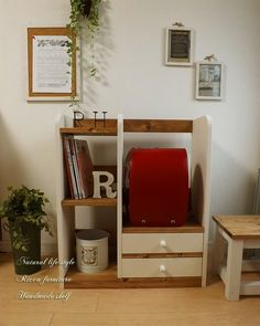 オーダー製作 カラーオーダー可能!!ランドセルラック Japanese Backpack, Backpack Storage, Kids Room, Handmade, Crafts, Furniture, Home Decor, Creema, Woods