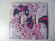 My Little Pony Twilight Sparkle light switch by Sellingitforyou, $6.00